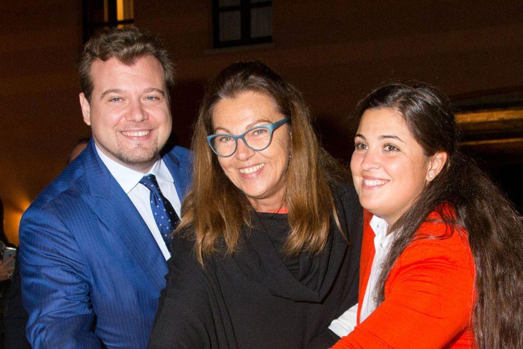 Famiglia Miroglio | Franco, Ivana e Marta